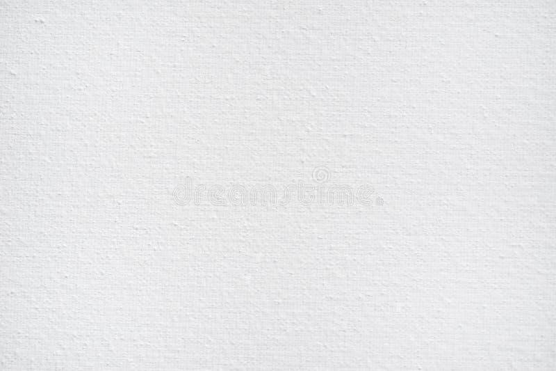 设计的特写镜头白色棉花帆布织品背景高分辨率纹理 免版税库存图片
