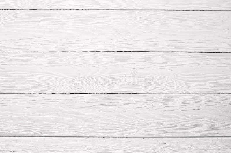 设计的白色木板背景纹理 免版税库存图片