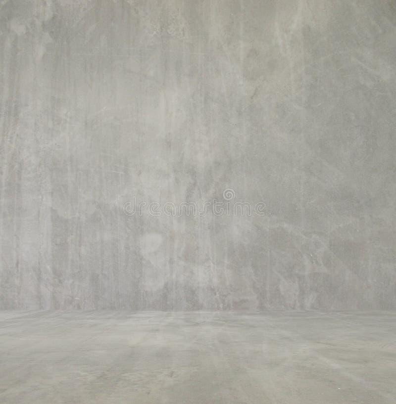 设计的空的内部,混凝土墙 空的空间 文本和图片的空间 设计想法和样式 图库摄影