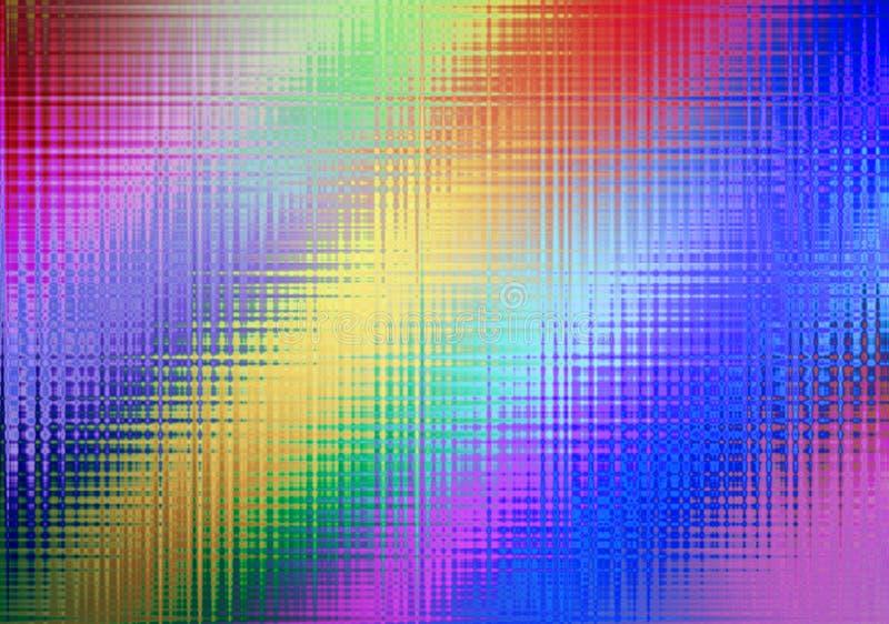 设计的,多彩多姿的轻的effe抽象彩虹背景 向量例证
