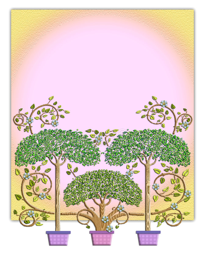 设计童话结构树 皇族释放例证
