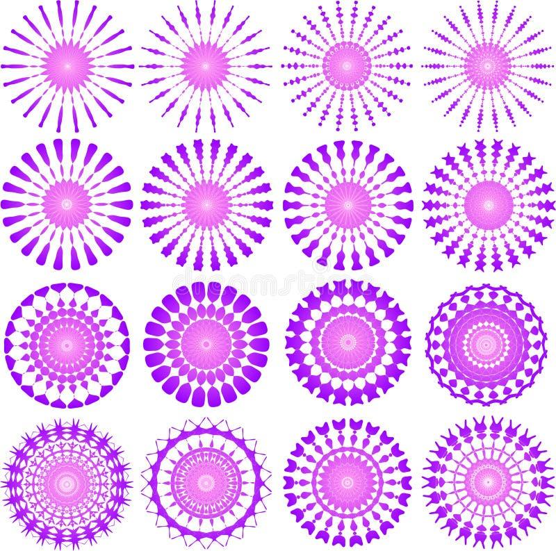 设计粉红色 向量例证