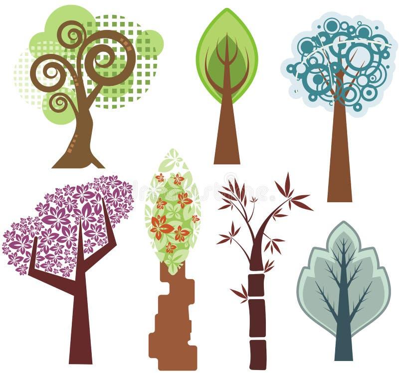 设计系列结构树 皇族释放例证