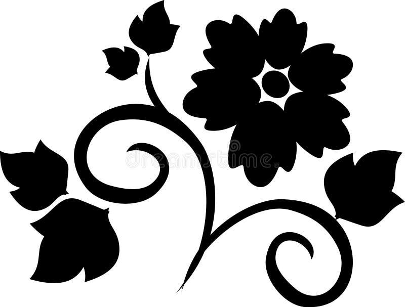 设计纹身花刺 向量例证