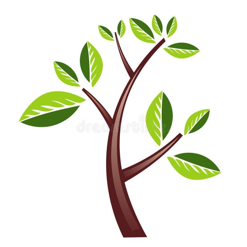 设计结构树 向量例证