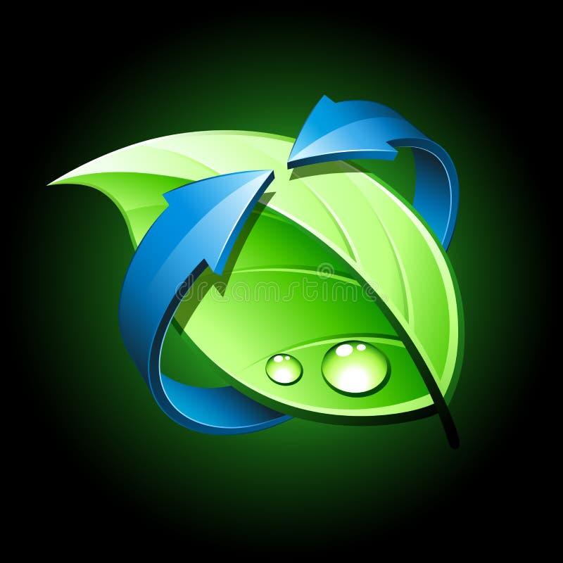 设计绿色 皇族释放例证