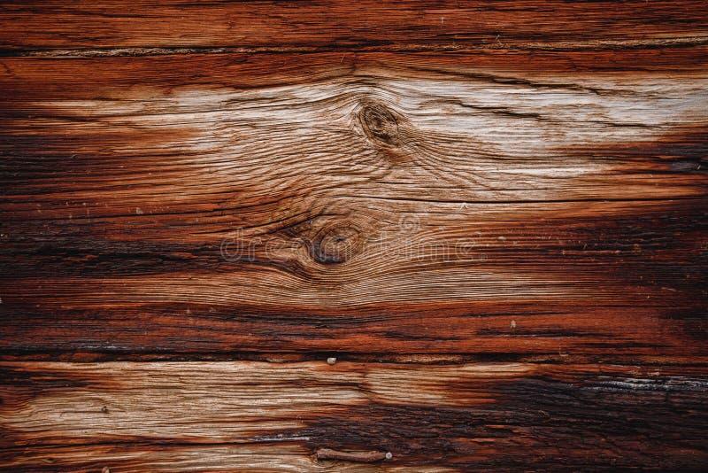 设计老黑暗的木纹理背景 免版税库存图片