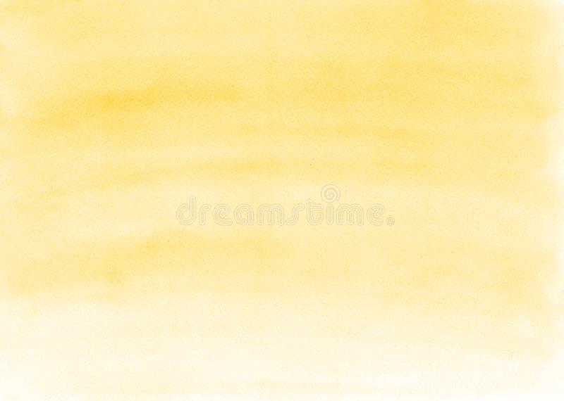 设计背景的柔和的黄色梯度背景 库存照片