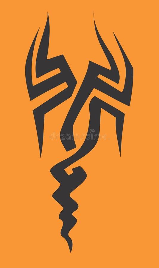 设计蝎子向量 免版税库存照片