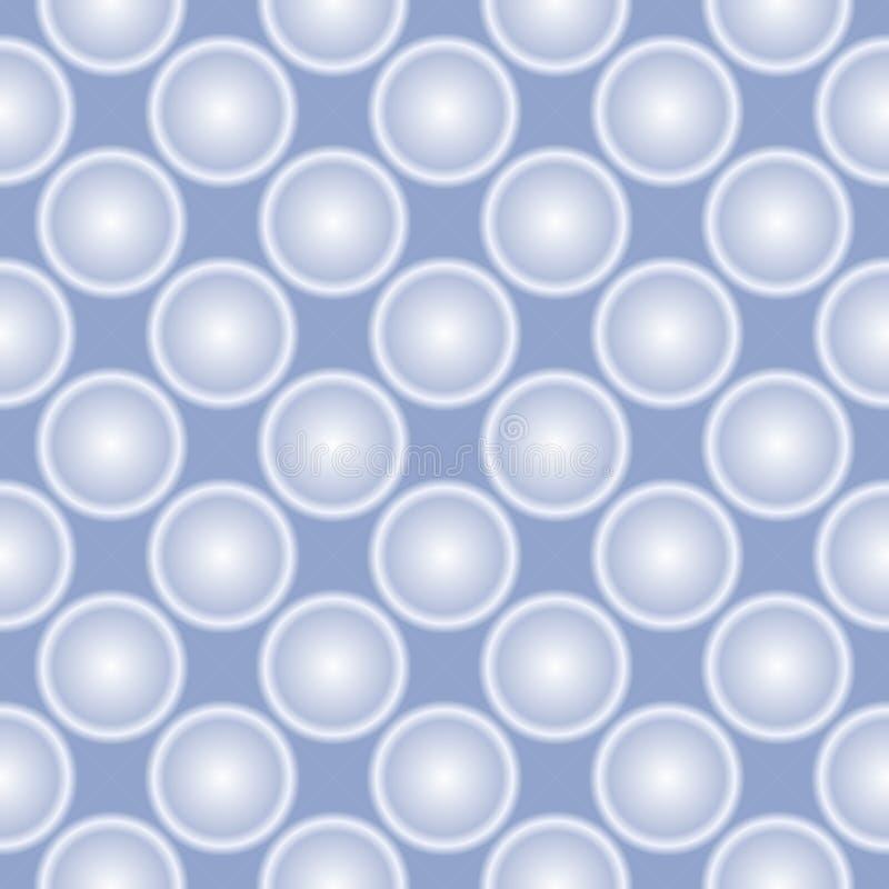 设计装饰无缝的传染媒介样式纹理背景 向量例证