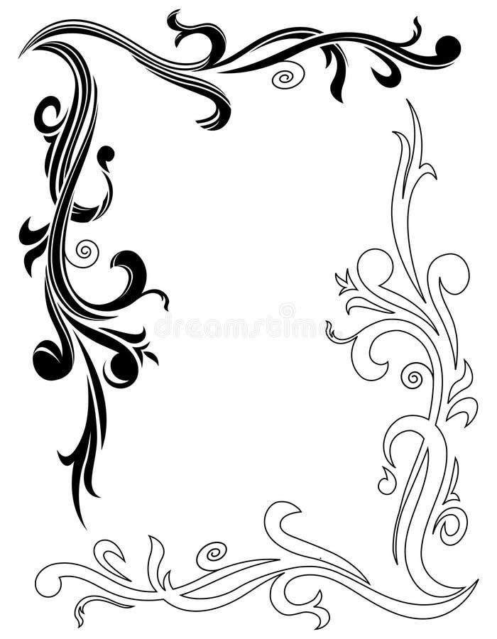 设计装饰物 皇族释放例证