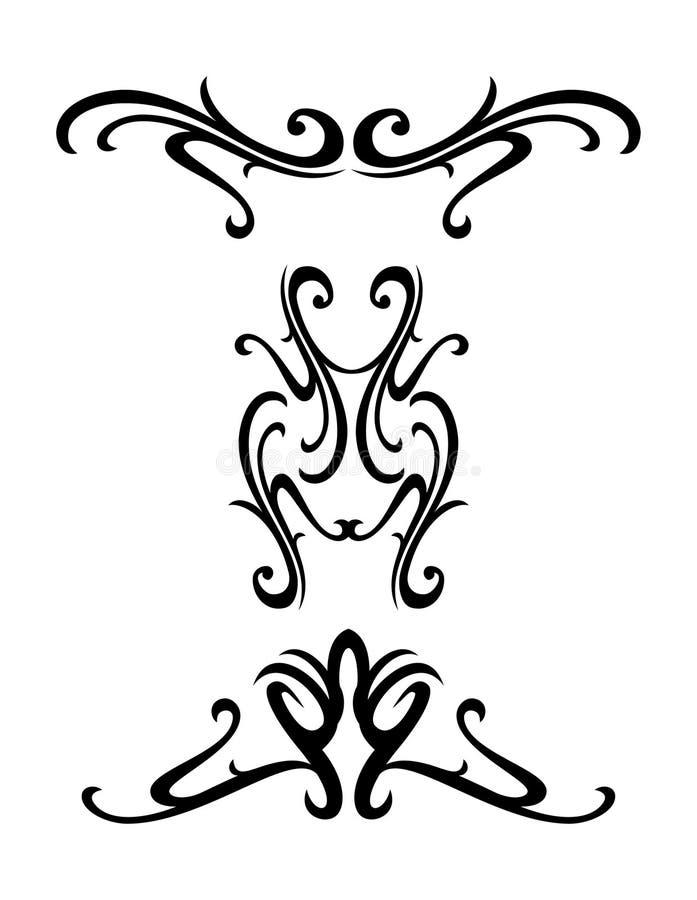 设计装饰部族 向量例证