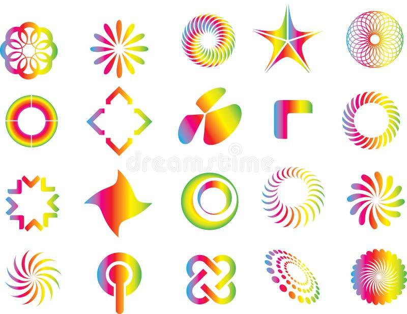 设计要素图形符号 向量例证