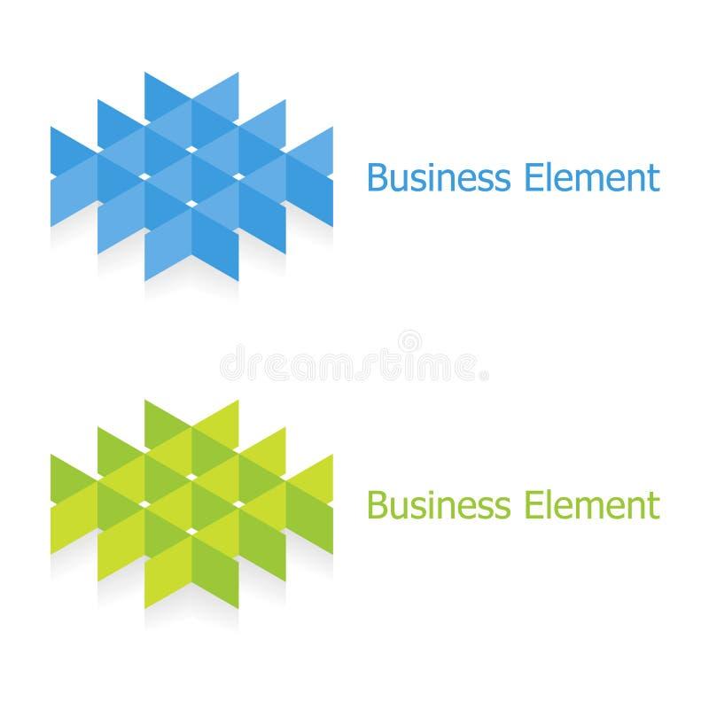 设计要素徽标 库存例证