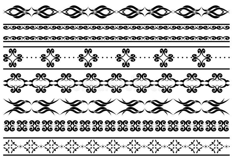 设计要素网眼图案向量 皇族释放例证