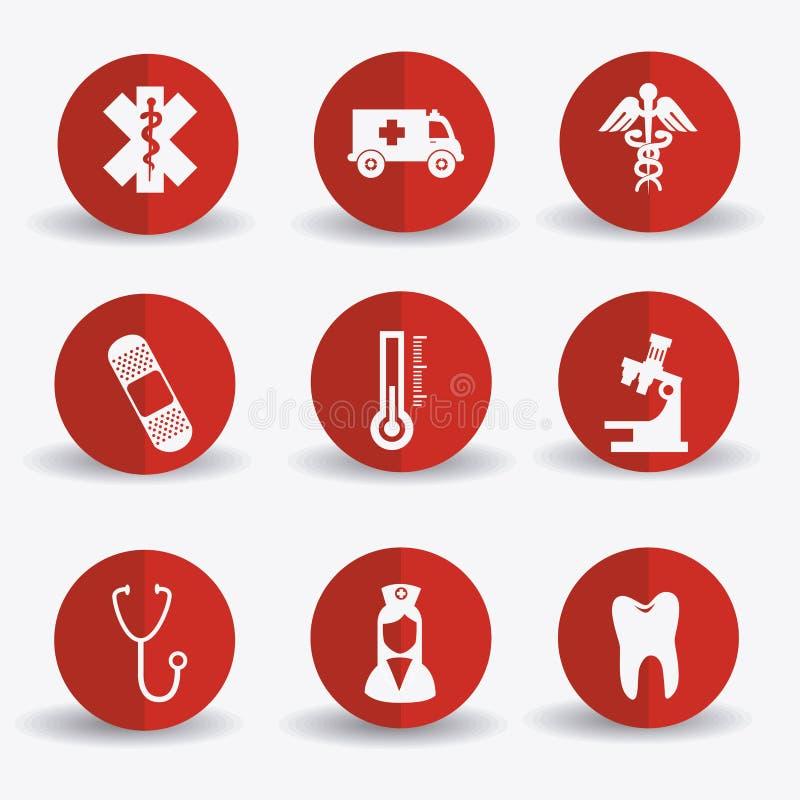 设计医疗 向量例证