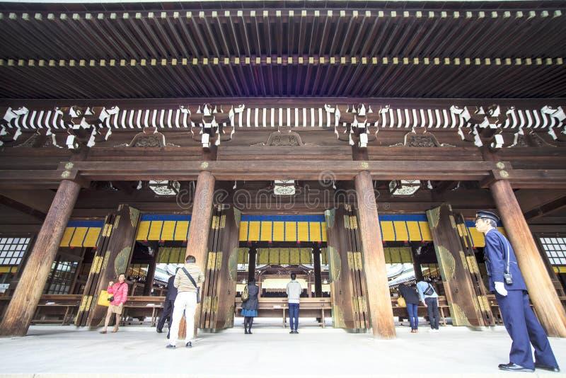 访客装饰一传统dree在美济礁津沽寺庙 库存照片