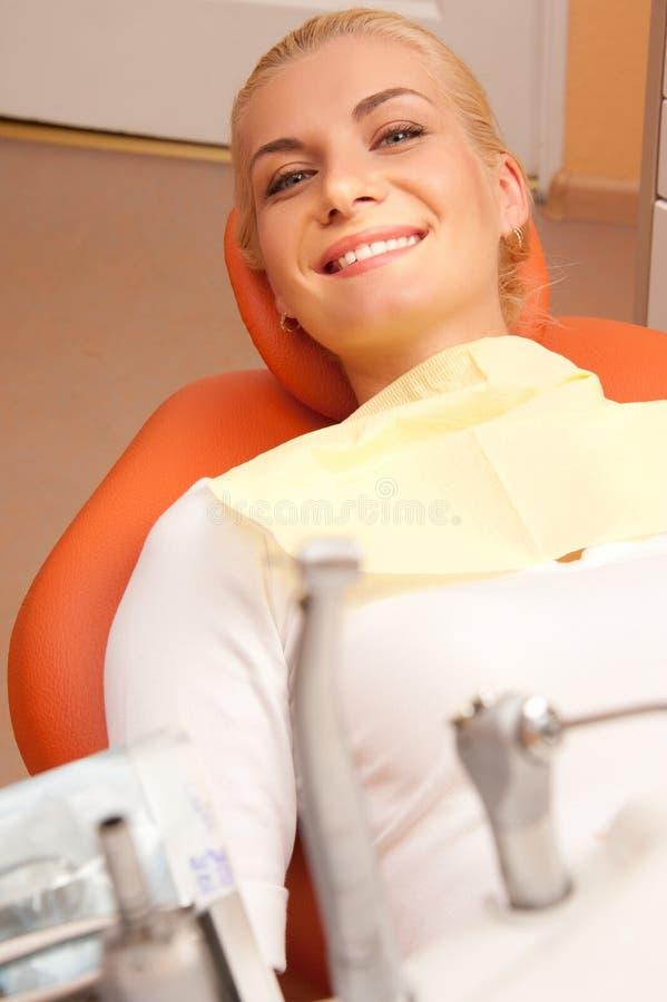 访问的牙科医生 图库摄影