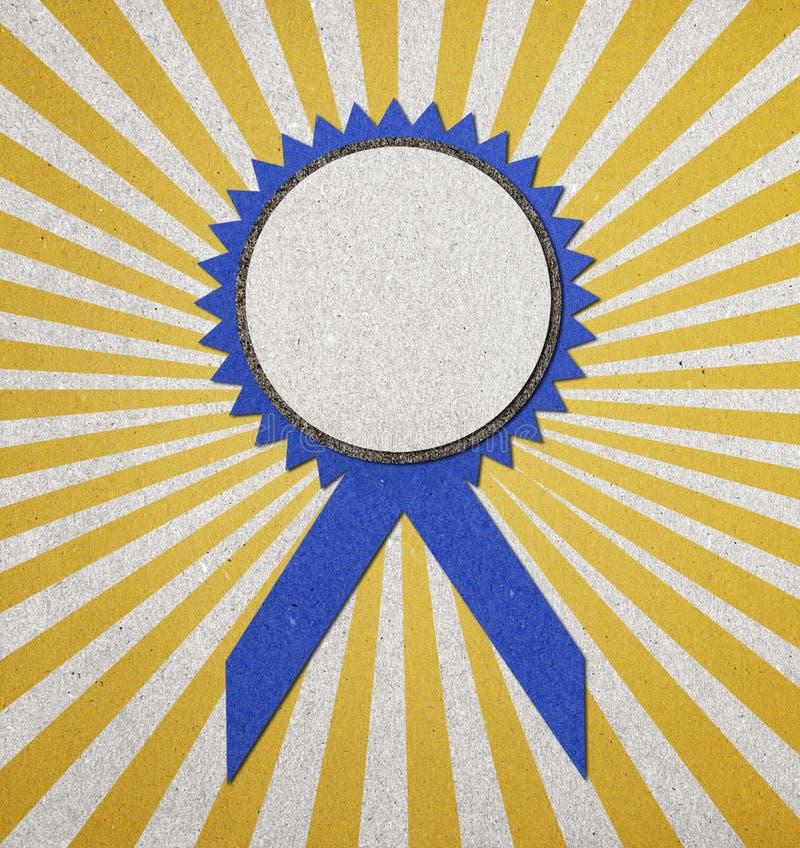 Download 证书空白蓝色 库存例证. 插画 包括有 首先, 荣誉称号, 橙色, 工艺, 赢利地区, 丝带, 大奖章, 成功 - 22355216