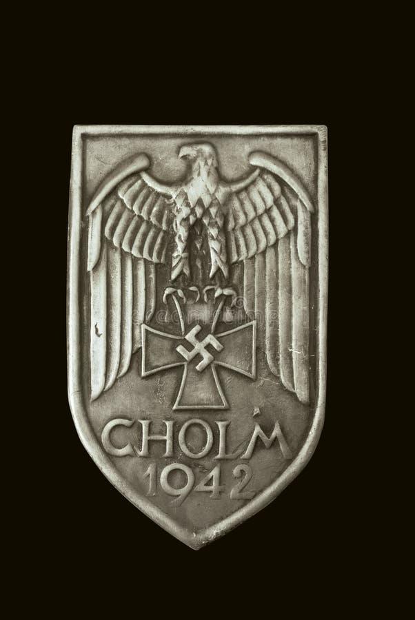 证书cholm盾 库存照片
