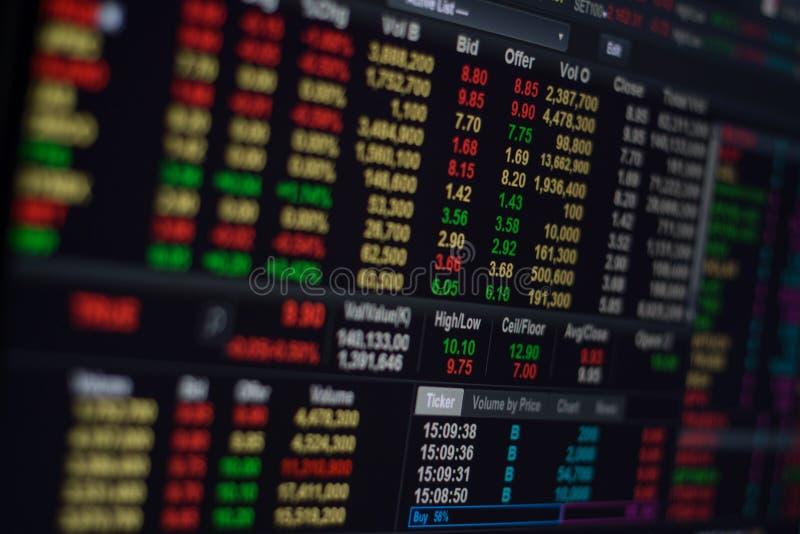 证券交易所 库存照片