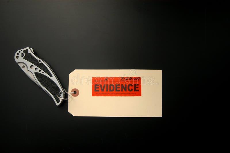 证据 免版税库存图片