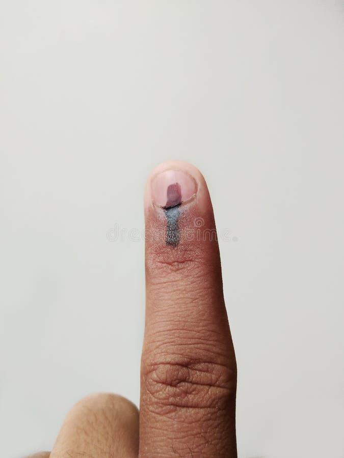 证明投票在民主主义国家 免版税图库摄影
