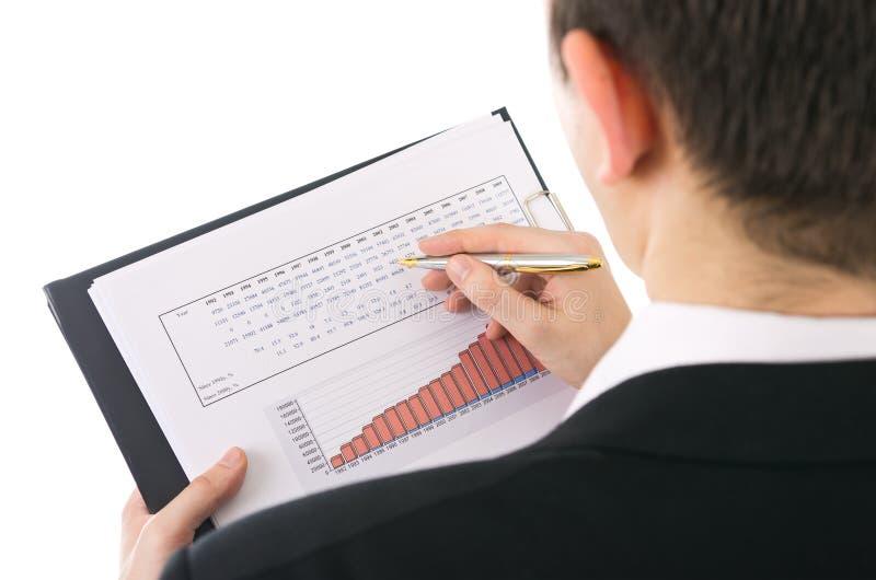 评估收入 免版税库存图片