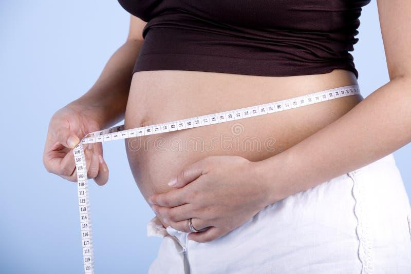 评定怀孕 免版税库存照片