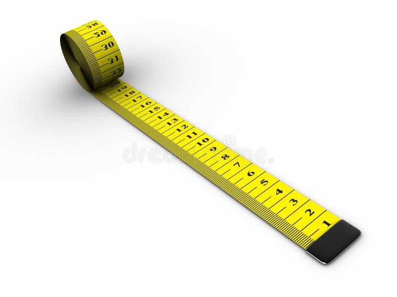 评定的磁带 向量例证