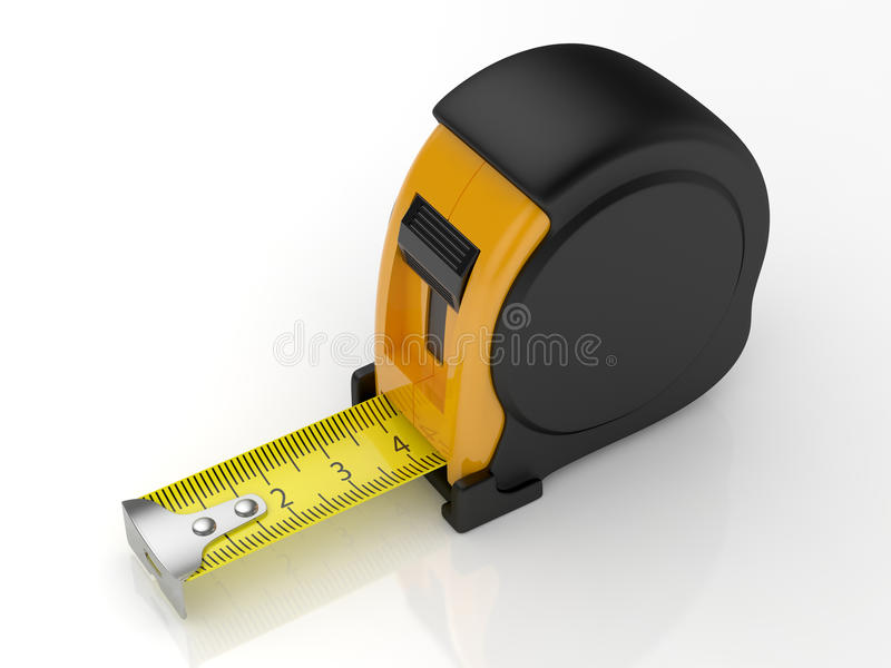 评定磁带 向量例证