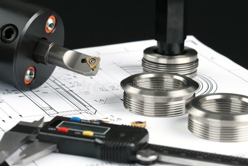 评定金属的要素 免版税库存照片
