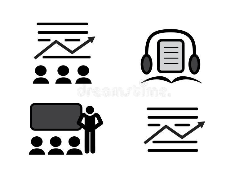 识字传染媒介象图象为在设计的使用 皇族释放例证