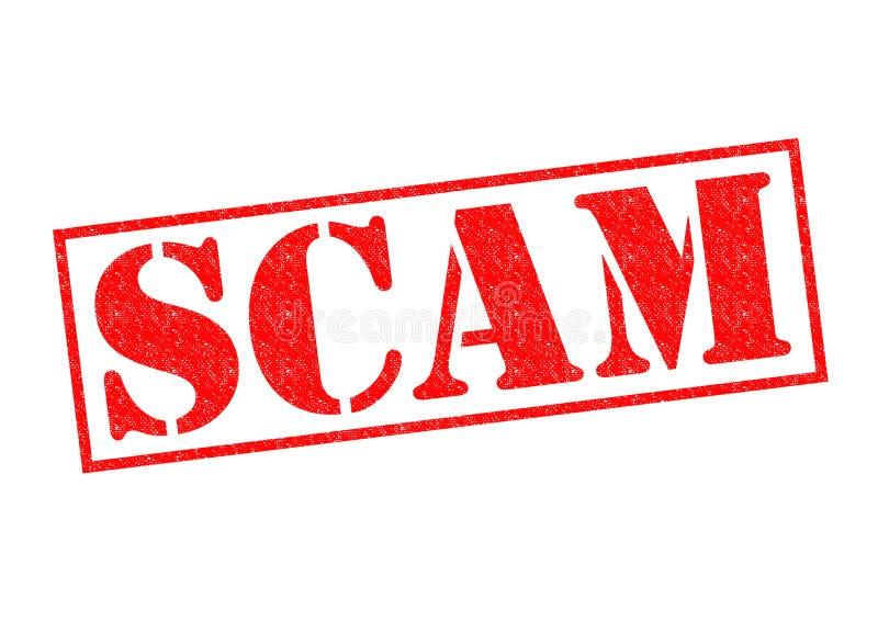 诈欺不加考虑表赞同的人 向量例证