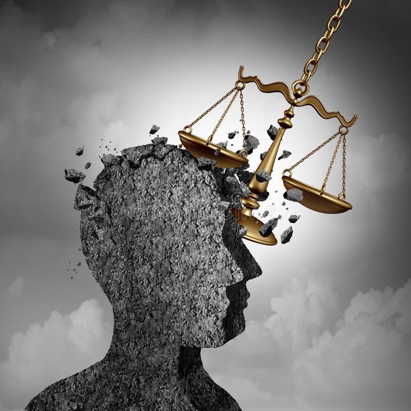 诉讼和诉讼重音 皇族释放例证