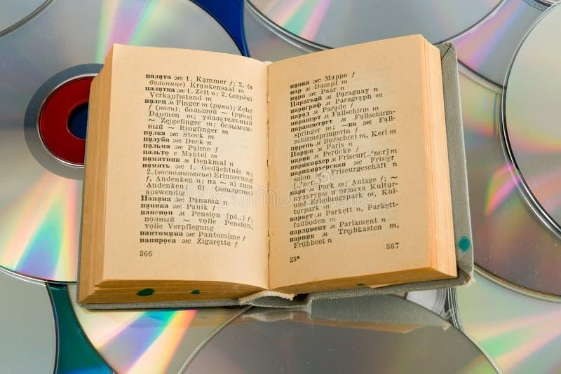 词典盘 图库摄影