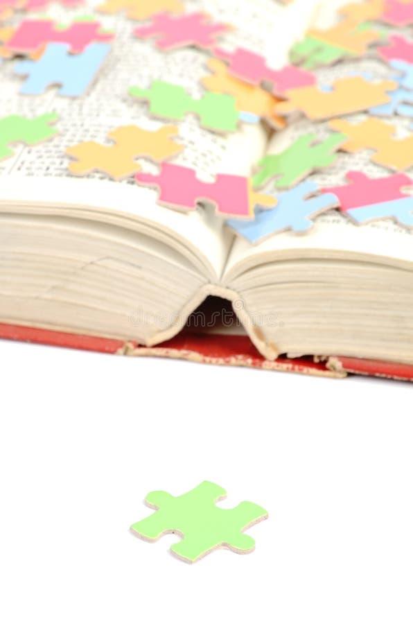 词典难题 免版税库存照片