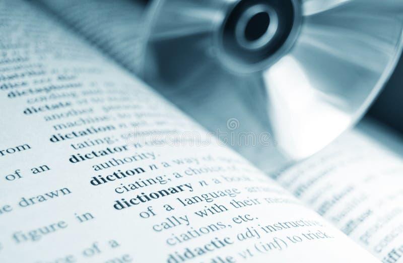 词典 免版税库存照片