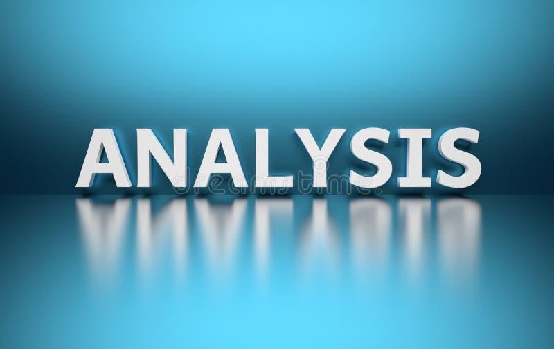 词分析 向量例证