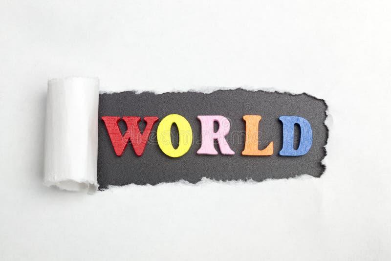 词和平 免版税库存照片