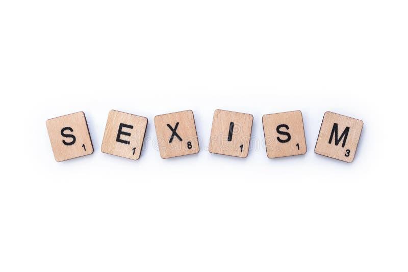 词性别歧视 免版税图库摄影