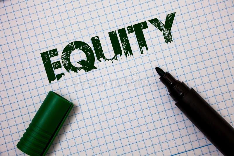 词文字文本产权 公司的价值的企业概念划分了成股东想法消息拥有的相等的零件gr 免版税图库摄影