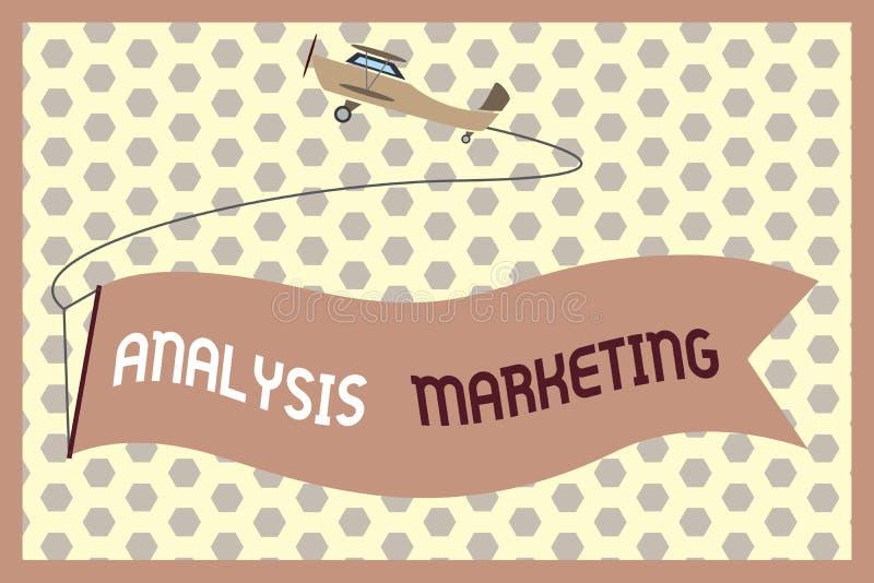词文字文本分析营销 对市场的定量和定性评估的企业概念 向量例证