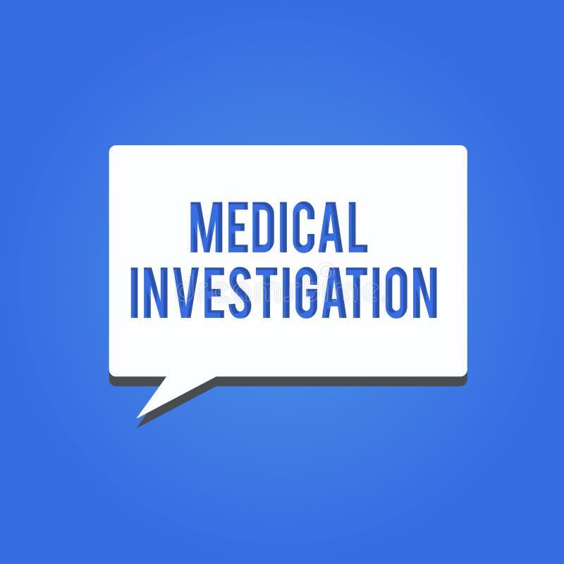词文字文本医疗调查 做的分析企业概念收集数据为新的药物或设备 库存例证