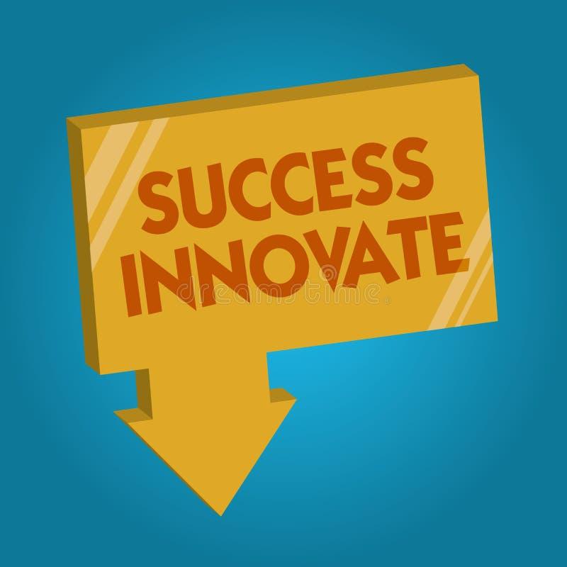 词文字文本成功创新 企业概念为使组织能适应对市场力量 库存例证