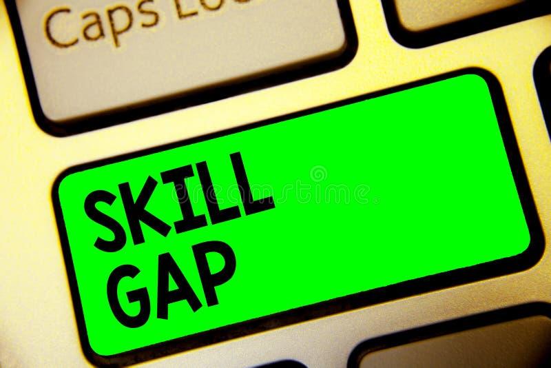 词文字文本技巧空白 提到的知识键盘绿色钥匙的人的弱点或局限企业概念  免版税库存图片