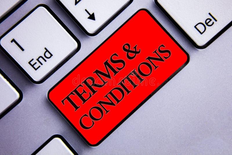 词文字文本期限和条件 法律法律协议声明制约解决显示的企业概念切断 库存图片
