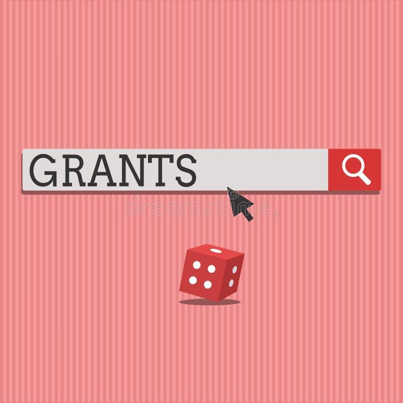 词文字文本津贴 同意的企业概念能给或允许某事请求某人批准行动 向量例证