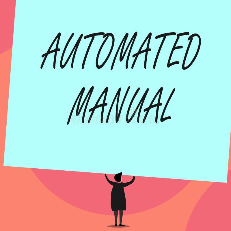词文字文本自动化的指南 当触发器转移和它的企业概念可能容易地交换在心情之间  库存例证