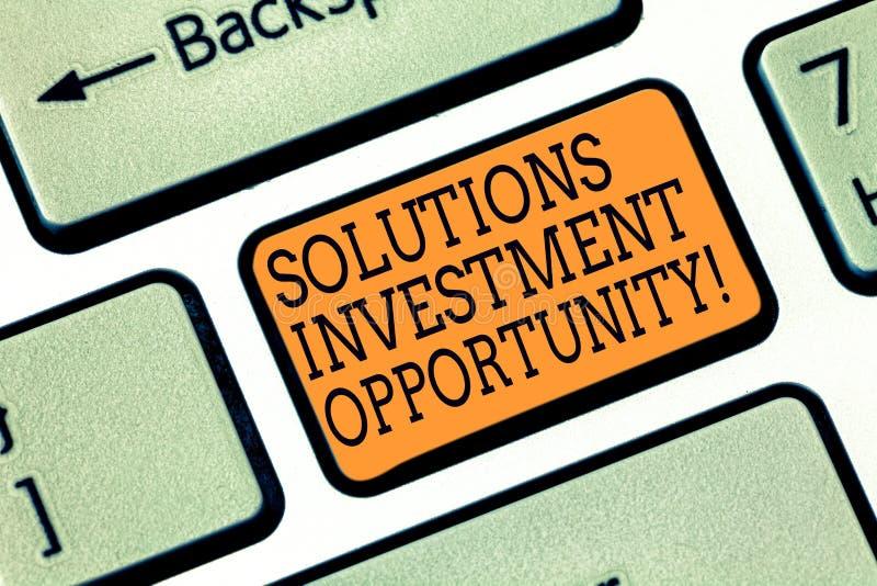 词文字文本解答投资机会 战略的企业概念在承担事务前 库存照片